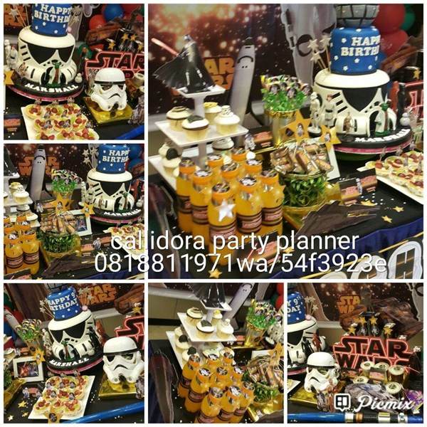 Paket Desert Table Corona