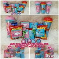 Paket Tumbler dan Snack Tema Princess and Crown 1