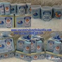 Paket Mug Printing dan  Kotak Kaleng dan Handuk Ukuran Sapu Tangan