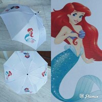 Payung Lipat 4 Sisi Tema Mermaid