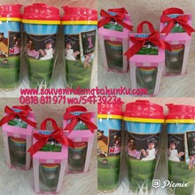 Tumbler G200 Insert Paper dan Kotak Tema Marsha and The Bear