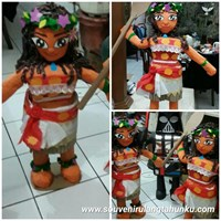 Pinata Personalized Moana With Tongkat 3D