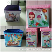 Toy Box Tema Mermaid