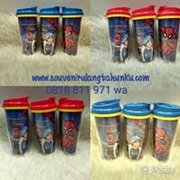 Jual Tumbler G200 Insert Paper Tema Spiderman