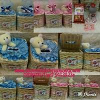 Jual Souvenir Rotan Tempat Tissue dan Snack 4 Macam 2