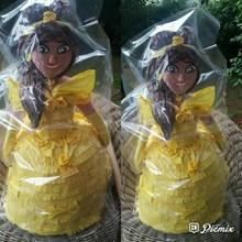 Souvenir Pinata Personalized Belle 3D