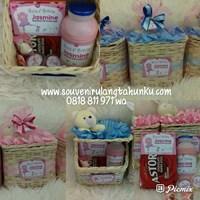Paket Souvenir Rotan Tissue dan Snack 4 Macam 1