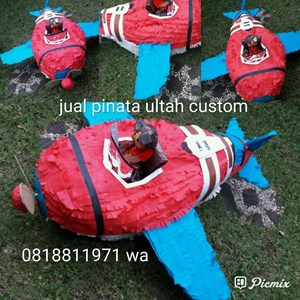 Sell Souvenir Pinata Personalized 3D Aircraft from Indonesia by Callidora  Kids,Cheap Price