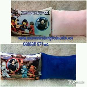 Souvenir Bantal Printing Yelvo 40x30 Tema Ninja Go