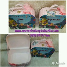 Souvenir Box Oval Lengkung Tema Little Pony
