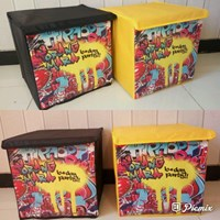 Jual Souvenir Toy Box Uk 30x30x30 Karton Tebal 2