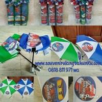 Souvenir Payung Lipat 3 Tema Paw Patrol