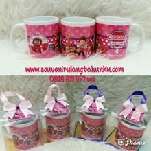 Souvenir Mug Printing dan Mika Box Tema Paw Patrol