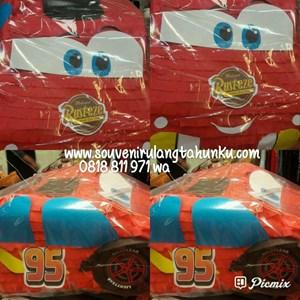 Souvenir Pinata Personalized McQueen Cars 3D