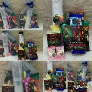 Souvenir Payung dan Snack 5 Macam