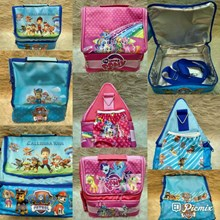 NEW Souvenir Tas Lunchbox with Alumunium Foil Segi