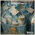 Paket Souvenir Rotan Tempat Majalah dan Toples Cookies Handuk Label DLL 1