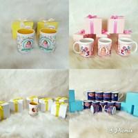 Souvenir Mug Printing and Box Polkadot