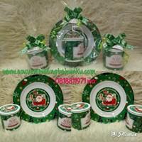 Souvenir Piring dan Mug Melamin Printing