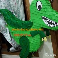 Souvenir Pinata Personalized 3D Tema Dinosaurus