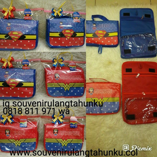 Souvenir Tas Toiletries Custom