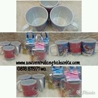 Souvenir Mug Printing dan Dus Mika