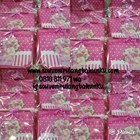 Souvenir Tas Toiletries Custom Pink 2