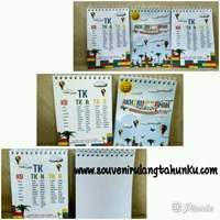 Souvenir Notebook Spiral Uk A6 Isi Polos Soft Cover
