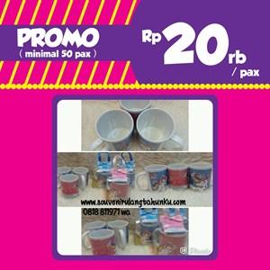 PROMO Souvenir Mug Printing dan Box Mika