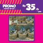 PROMO Souvenir Rotan Ranjang dan Snack 3 Macam dan Wrapping Tile 1