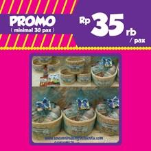 PROMO Souvenir Rotan Ranjang dan Snack 3 Macam dan