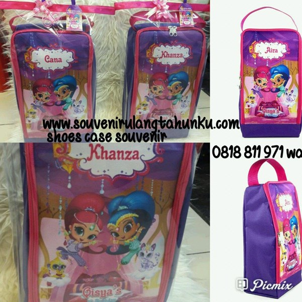 NEW Souvenir Shoes Case Tema Shimmer and Shine