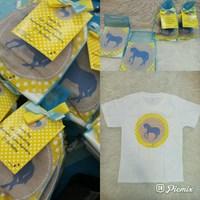 Souvenir Kaos Sablon Printing Anak