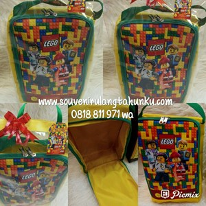 Souvenir Shoes Case Lego Theme