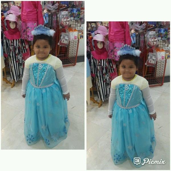 Kostum Elsa Frozen 2