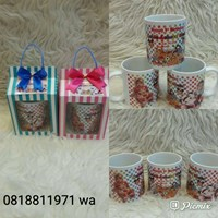 Souvenir Mug Printing dan Box Polkadot 3