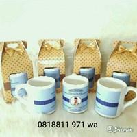 Souvenir Mug Printing dan Box Polkadot Tipe 3