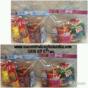 Paket Souvenir Snack Isi 7 Macam