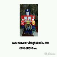 Souvenir Pinata Optimus Prime 3D