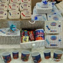 Souvenir Kotak rotan + mug + snack