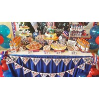 eg Captain American Desert Table / Captain American Party