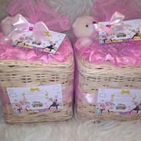Souvenir aqiqah tempat tissue mini