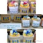 souvenir tempat tissue dan handuk bordir tulisan 1