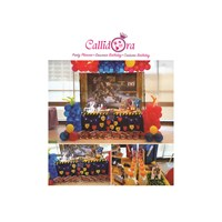 Birthday Decoration Package Dessert table columba