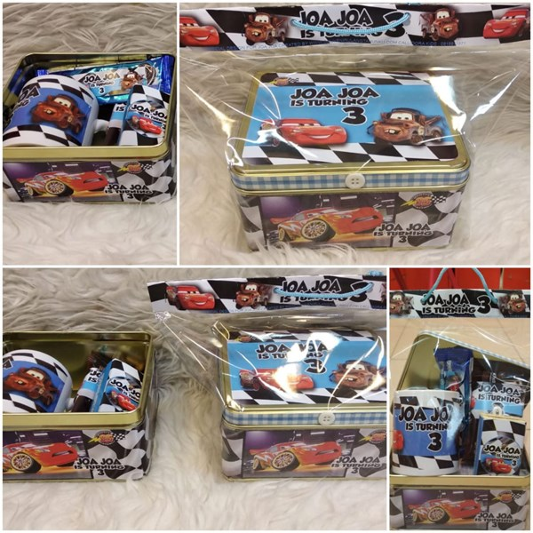 Kotak Kaleng + Mug + Snack