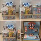Souvenir ulang tahun Kotak Kaleng + Mug + Snack (Tema bebas bisa request) 1