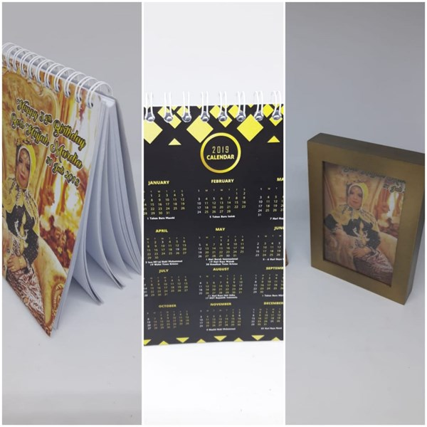 souvenir ulang tahun Frame & notes (Tema bebas bisa request)