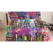 Party Planner dan Dessert Table Tema PJ Mask