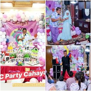 Pesta ulang tahun tema Hijab anak