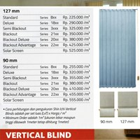 Jual VERTICAL BLIND 2